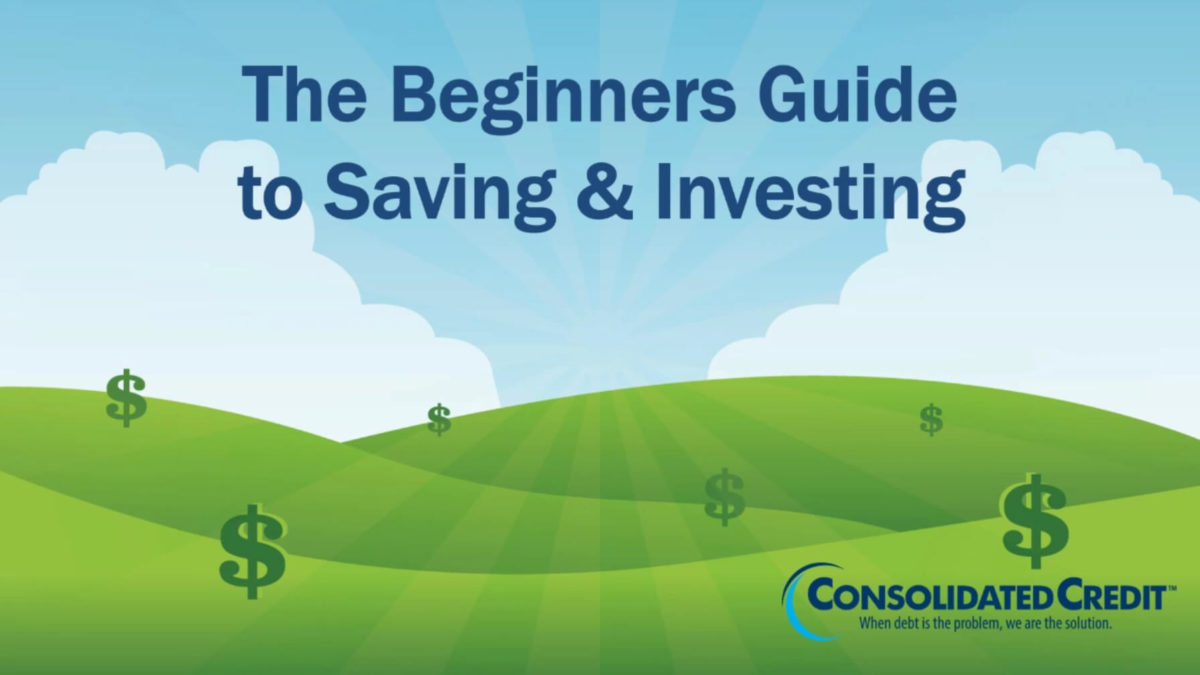 Title card for Saving and Investing Webinar