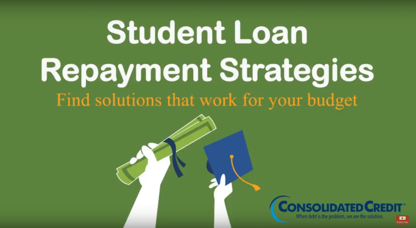 Watch Consolidated Credit's free student loan repayment strategies webinar