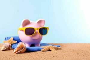Keep trip costs low to keep your piggy bank cool this summer