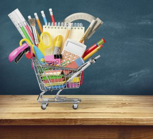 Find smart ways to fill your back to school shopping cart for less