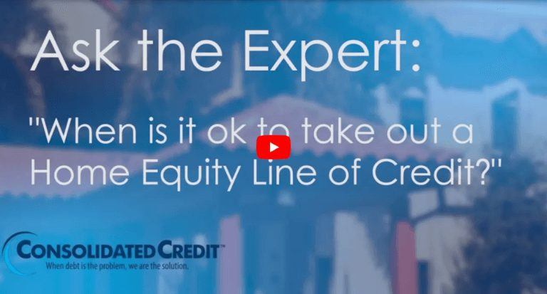 Ask the Expert: When is it ok to take out a Home Equity Line of Credit?
