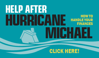 Help after Hurricane Michael: how to handle your finances. Click here!