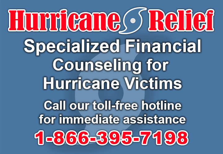 Consolidated Credit establishes a specialized hurricane disaster relief hotline
