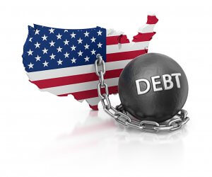 American consumers nationwide are shackled by heavy total household debt