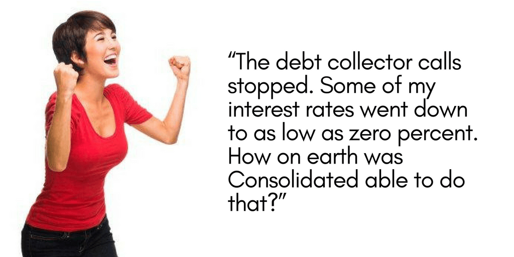 Sonya recounts her experience on a debt management program