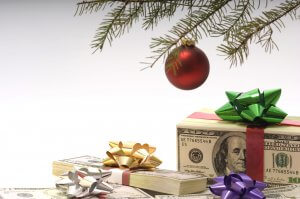 Holiday spending equals out to piles of cash under your tree