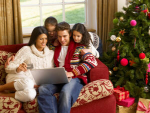 Household holiday spending is high this year