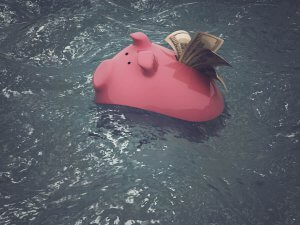 Use emergency savings to stay afloat