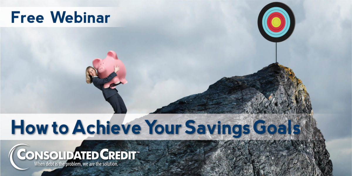 Free webinar: How to achieve your savings goals