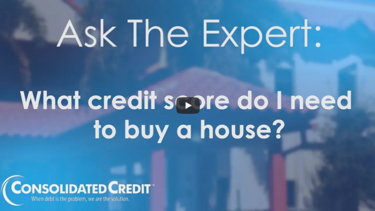 how to buy a house with low credit score