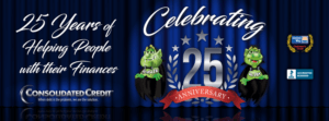 Consolidated Credit celebrates 25 years of helping people get out of debt