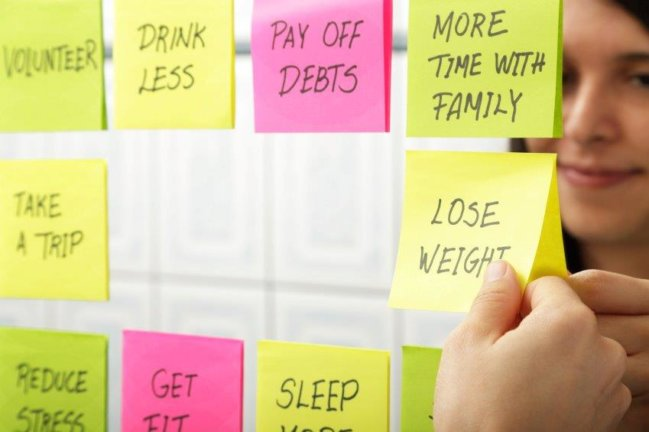 If you have multiple New Years resolution ideas, focus on the financial first and health will follow naturally