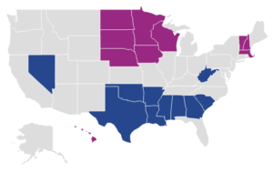 Experian's State of Credit map also shows average credit card debt by state