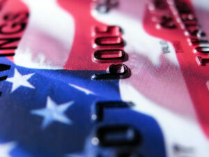 Which states in America have the highest credit card debt burden?