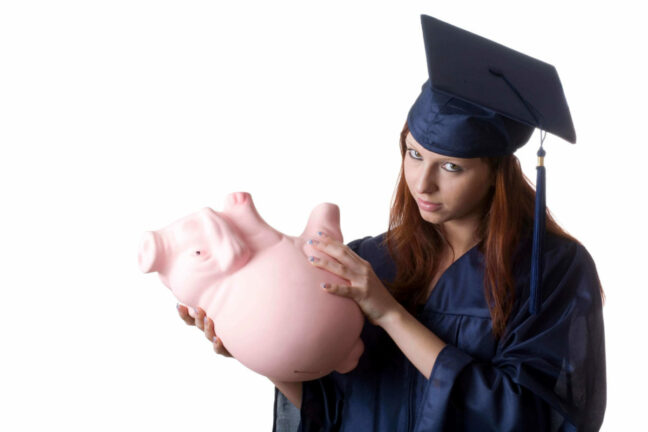 Student loan debt problems lead to empty