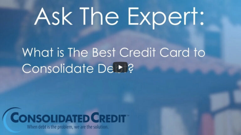 Ask the Expert video thumbnail: What is the Best Credit Card to Consolidate Debt?