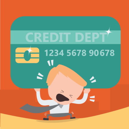Which state has the most credit card debt and carries the biggest burden?