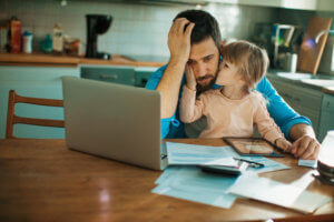 Single parents are less likely to feel financially secure