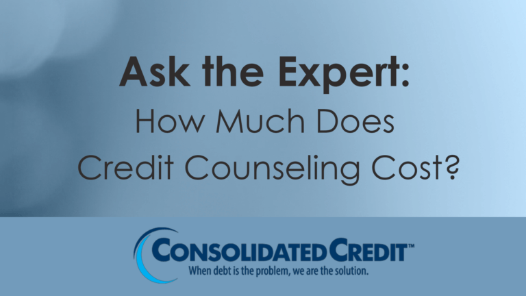 Ask the Expert: How much does credit counseling cost?