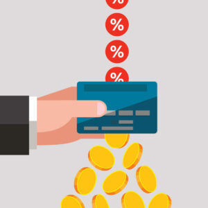 High annual interest rates on credit cards can turn into big costs for cardholders