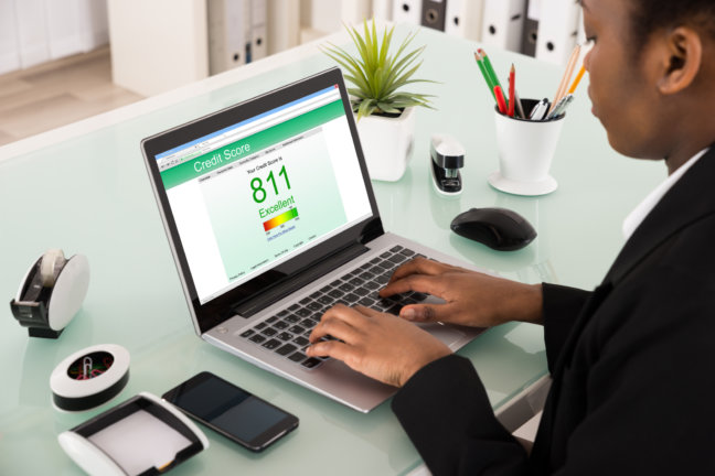 Achieve an excellent credit score