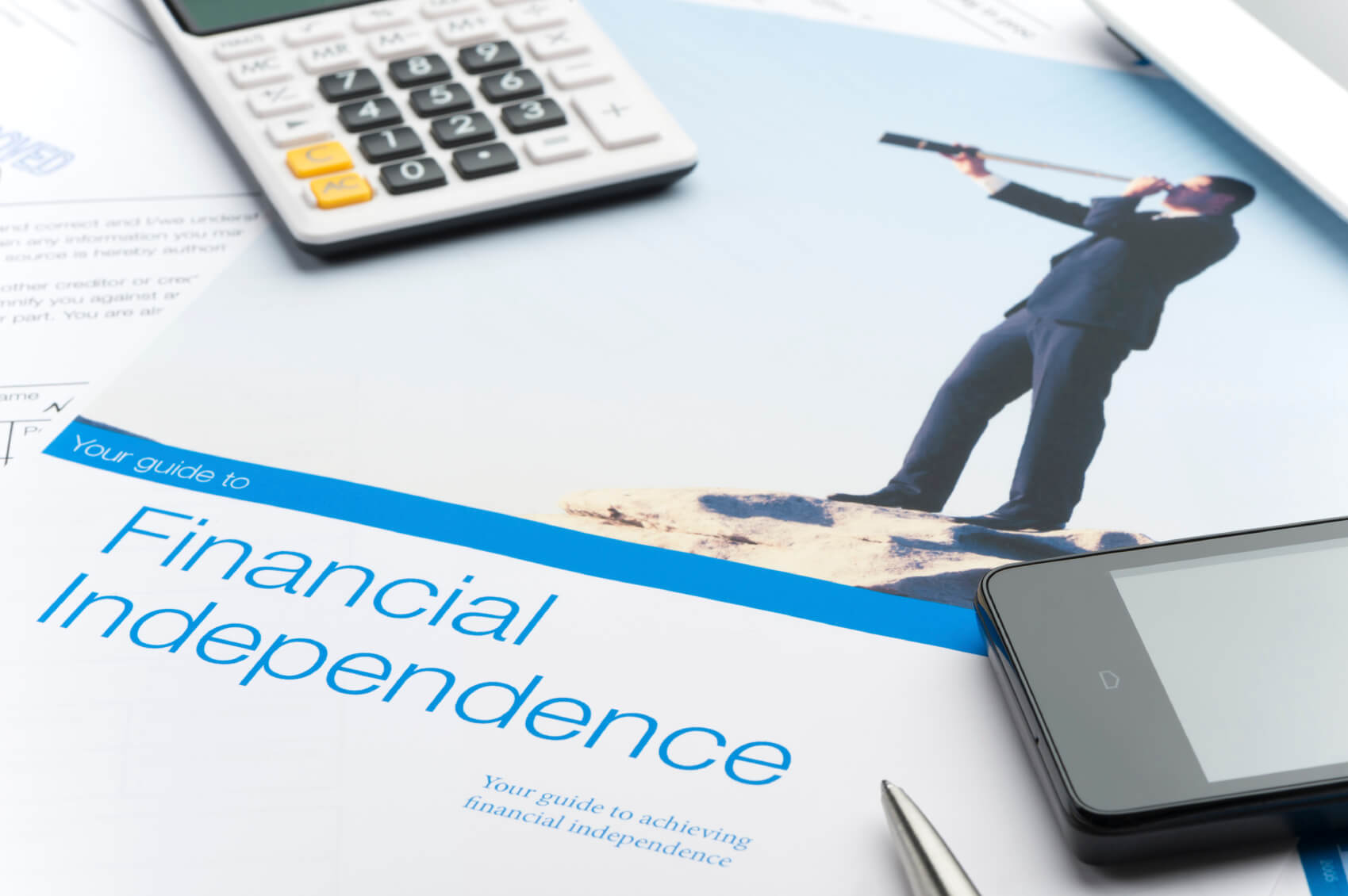 Focusing on financial independence