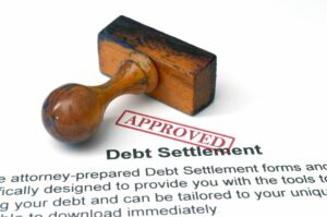 Approved debt settlement offer