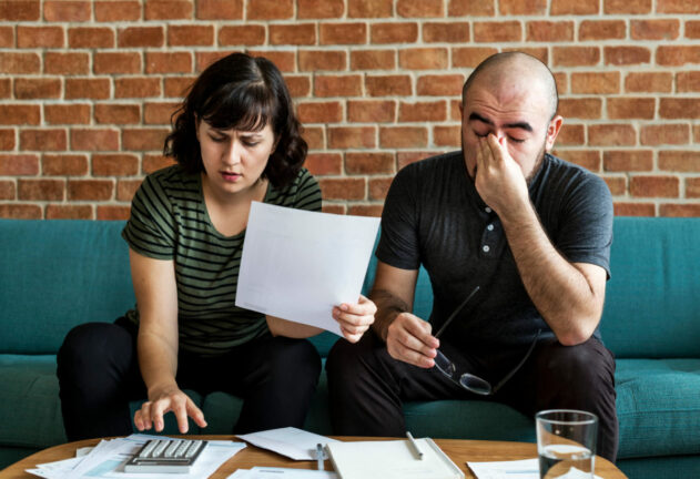 Financial anxiety is most couple's biggest source of stress
