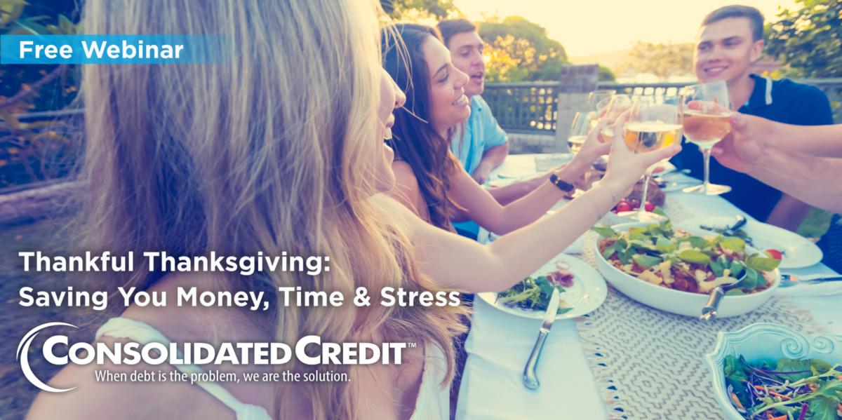 Free Webinar: Thankful Thanksgiving - Saving You Money, Time & Stress