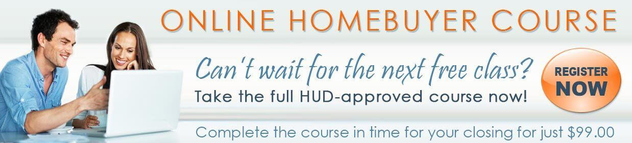 online homebuyer education course; first-time homebuyer program