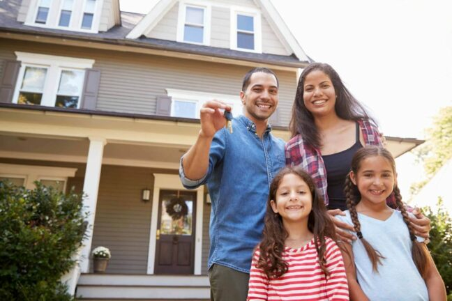 Take the first steps to homeownership like this family
