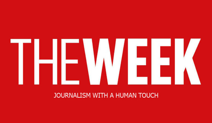 The Week logo: Journalism with a human touch