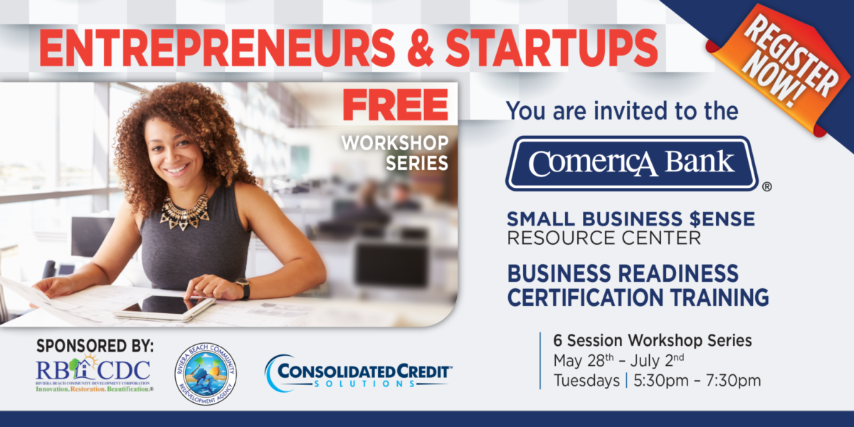 Flyer for Small Business $ense Business Certification Training