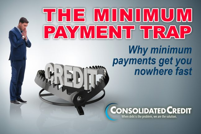 The Minimum Payment Trap: Why minimum payments get you nowhere fast