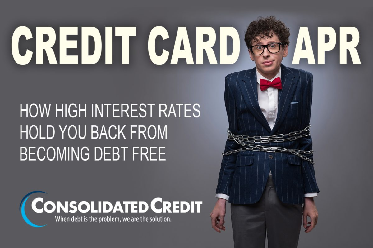 Credit Card APR: How high interest rates hold you back from becoming debt free