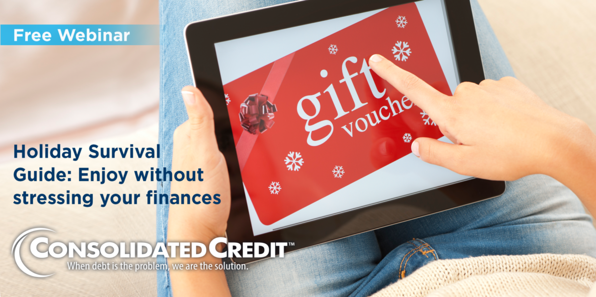 Free Webinar: Holiday Survival Guide - Enjoy without stressing your finances