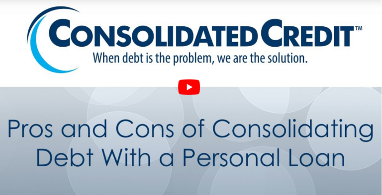 Pros and Cons of Consolidating Debt with a Personal Loan