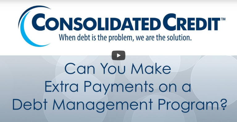 Can You Make Extra Payments on a Debt Management Program?