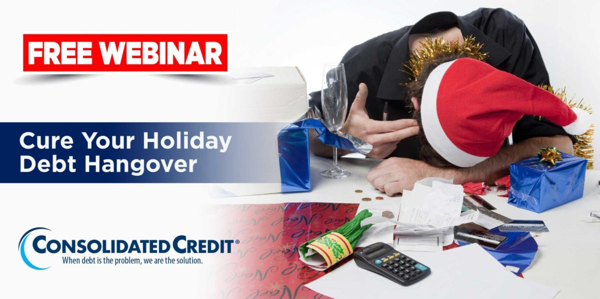 Free Webinar: Cure Your Holiday Debt Hangover