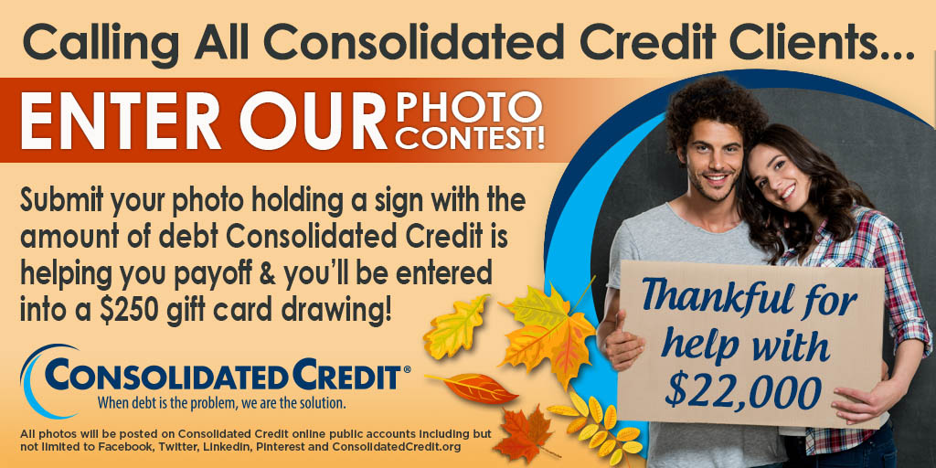 Flier for Be Thankful Photo Contest