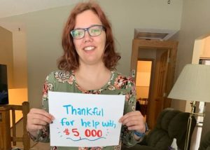 Rebecca Rose from Minnesota wins $250 in Consolidated Credits Be Thankful Photo Contest