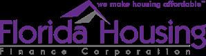 Florida Housing Finance Corporation logo: we make housing affordable