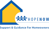 HOPENow logo: Support & Guidance For Homeowners