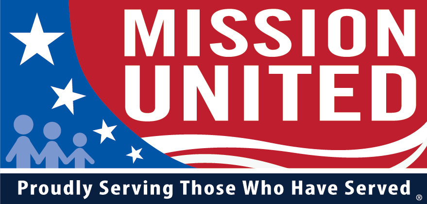 Mission United logo: Proudly Serving Those Who Have Served