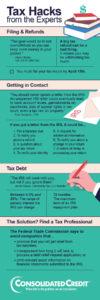 tax hacks webinar infographic