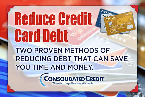 Learn how to reduce credit card debt