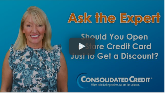 Ask the Expert: Should You Open a Store Credit Card Just to Get a Discount?