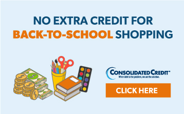No Extra Credit for Back-to-School Shopping - CLICK HERE