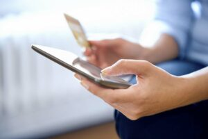Americans are shopping more online during the pandemic and using credit cards more