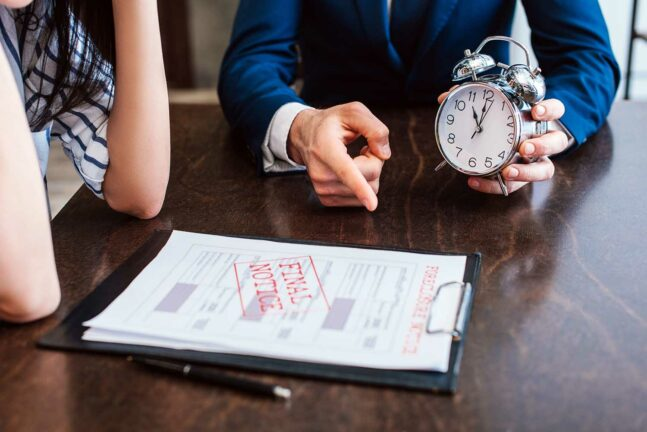 Debt collectors may pressure you that time is running out, but they have a limited time to collect